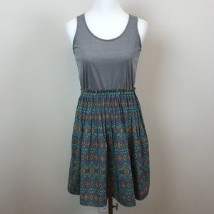 Maison Jules Patterned Dress